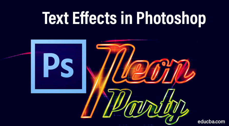 Text Effects in Photoshop