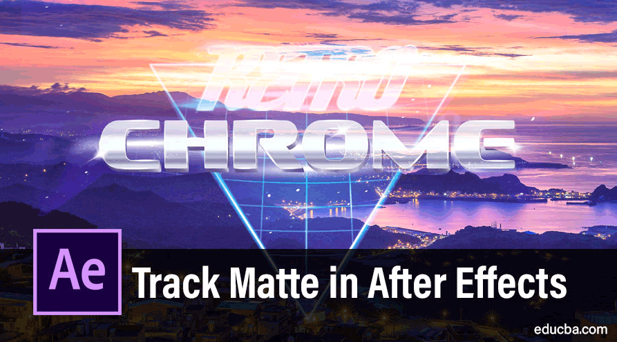 track matte in after effects