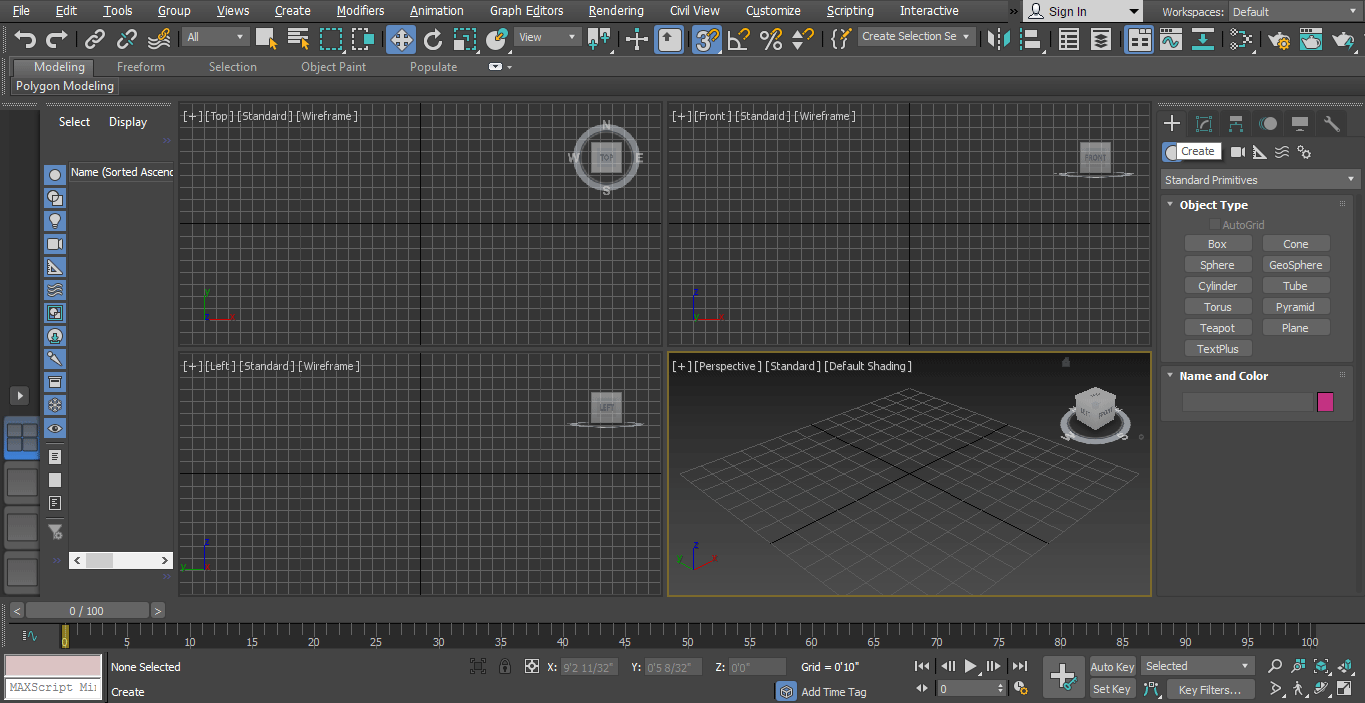 viewports (Rendering in 3ds Max)