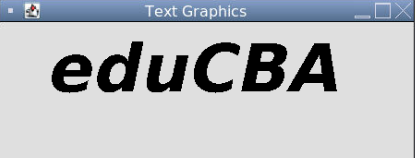 Text Graphics