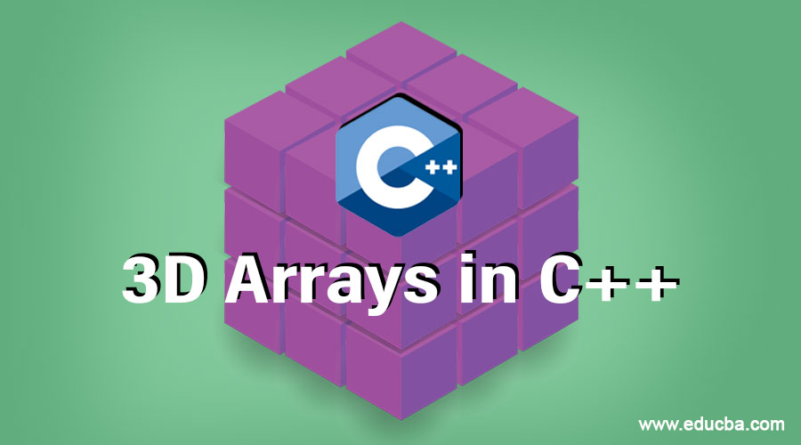 3D Arrays in C++