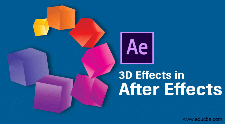 3D effects in after effects