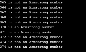 Example 3 - Armstrong Number