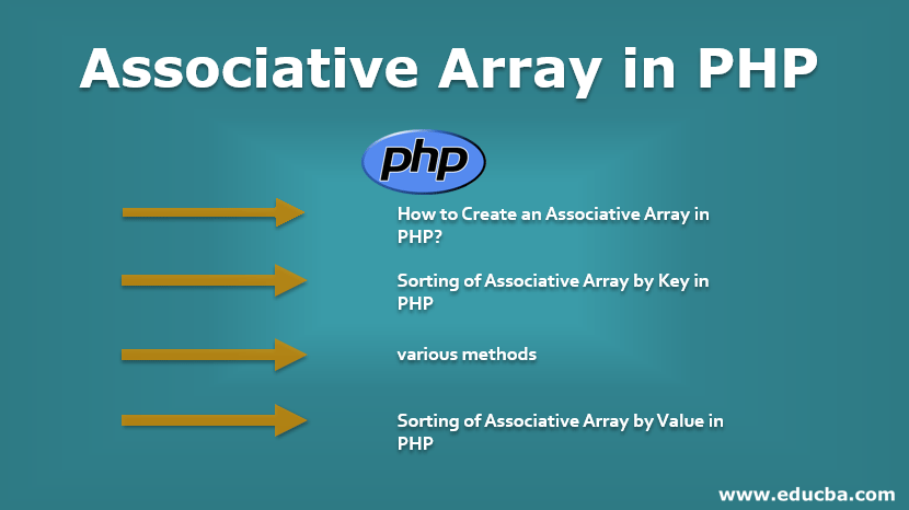 Associative Array in PHP