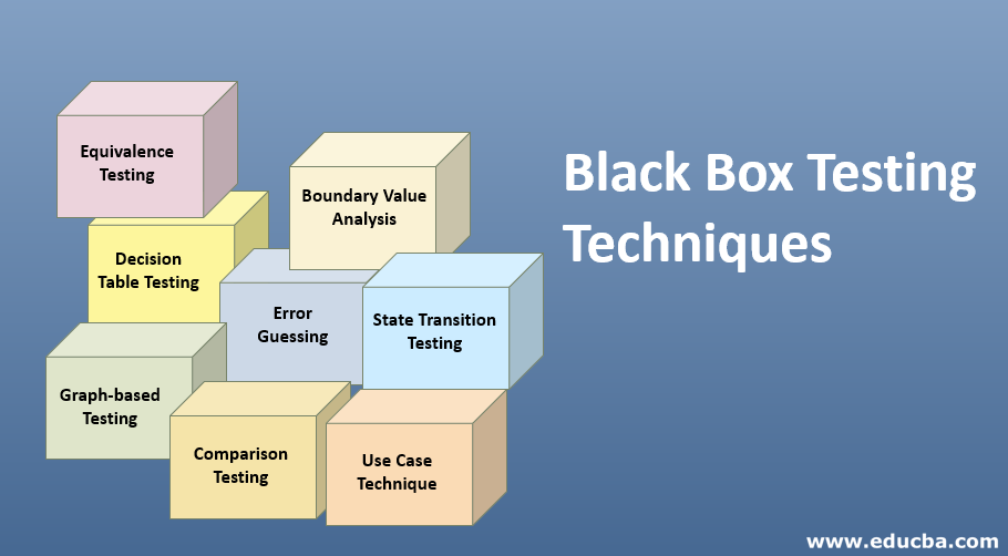 Black Box Testing Techniques