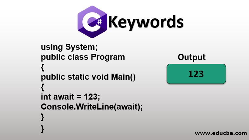 C# Keywords