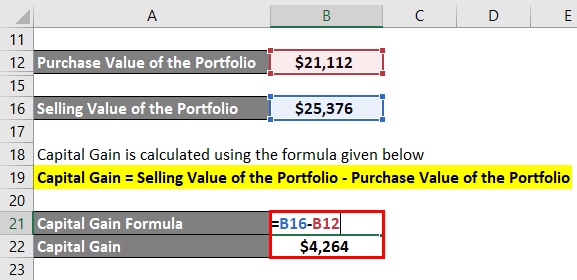 Capital Gain Formula-4.4