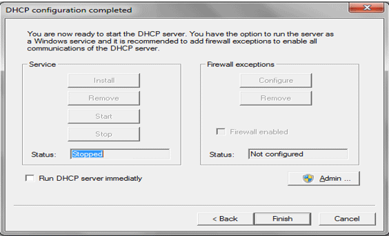 Configuring DHCP Server-1.10