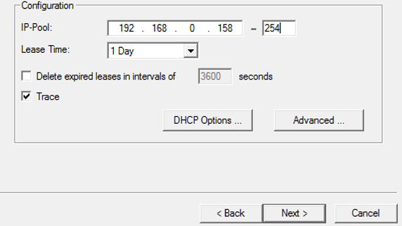 Configuring DHCP Server-1.7