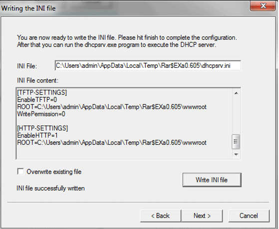 Configuring DHCP Server-1.9