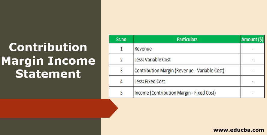 Contribution Margin Income Statement 2