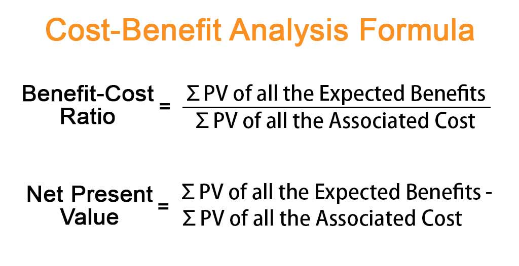 Cost-Benefit Analysis Formula