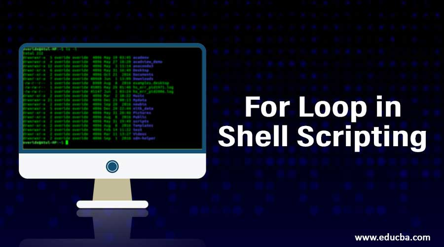 For Loop in Shell Scripting