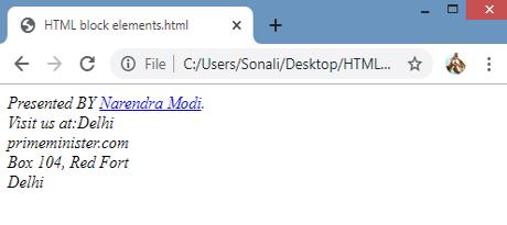 HTML Blocks img