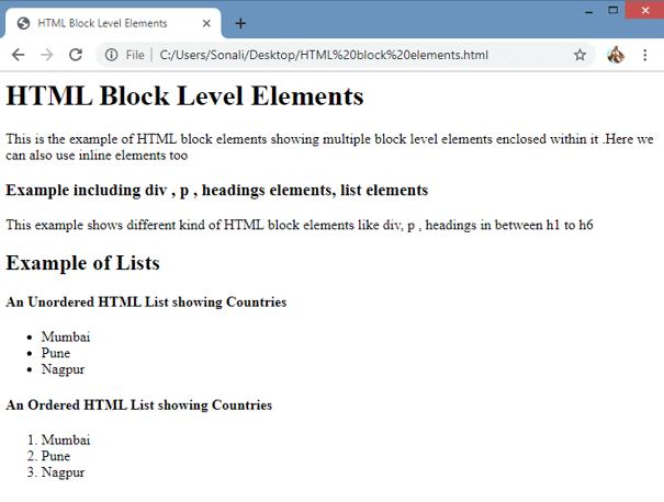 HTML Blocks img1