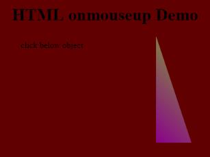 Onmouseup