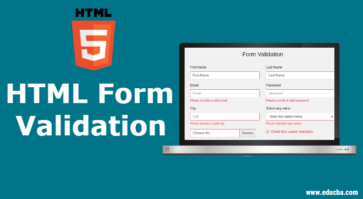 HTML Form Validation