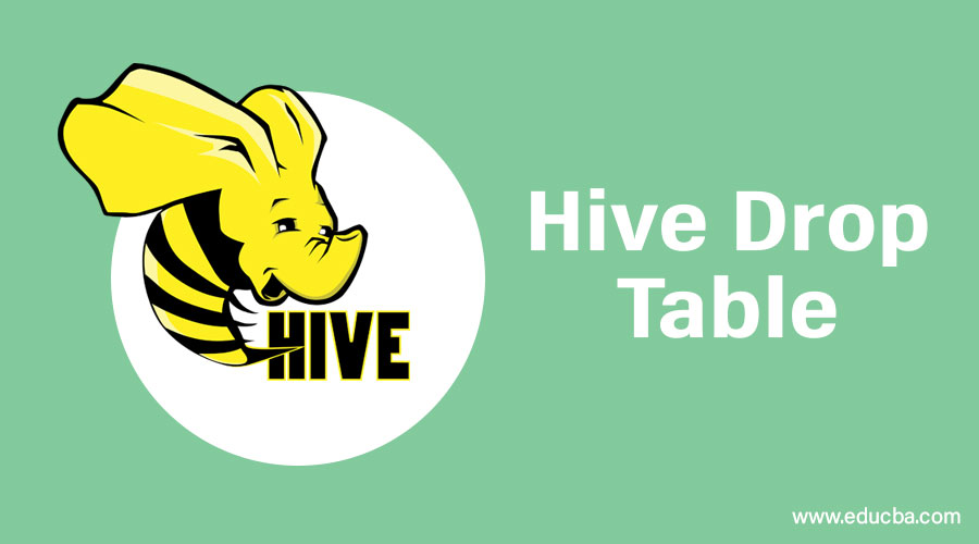 Hive Drop Table