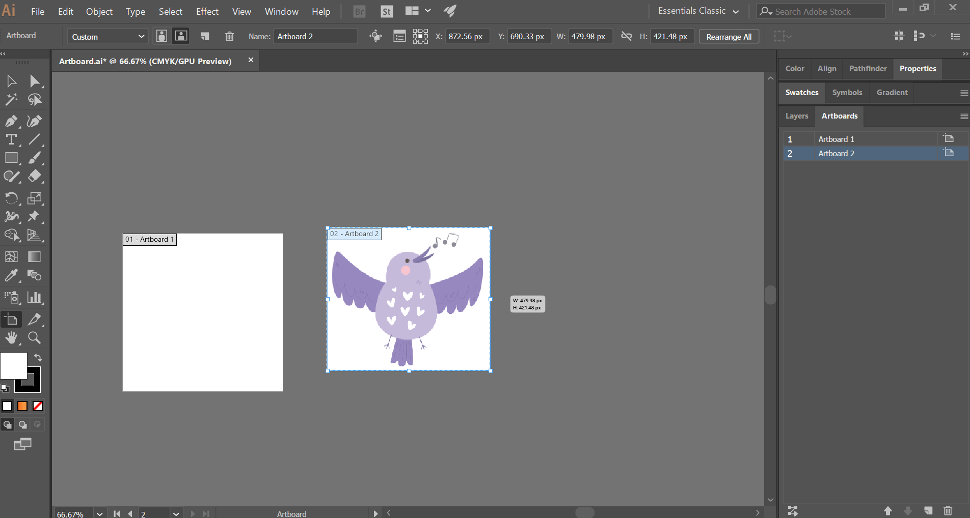 How to Change Artboard Size in Illustrator 1-6