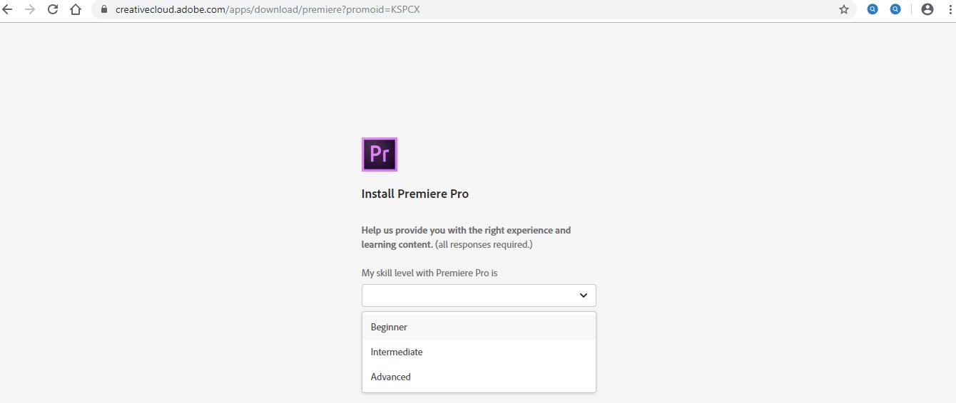 Install Adobe Premiere Pro 1-10
