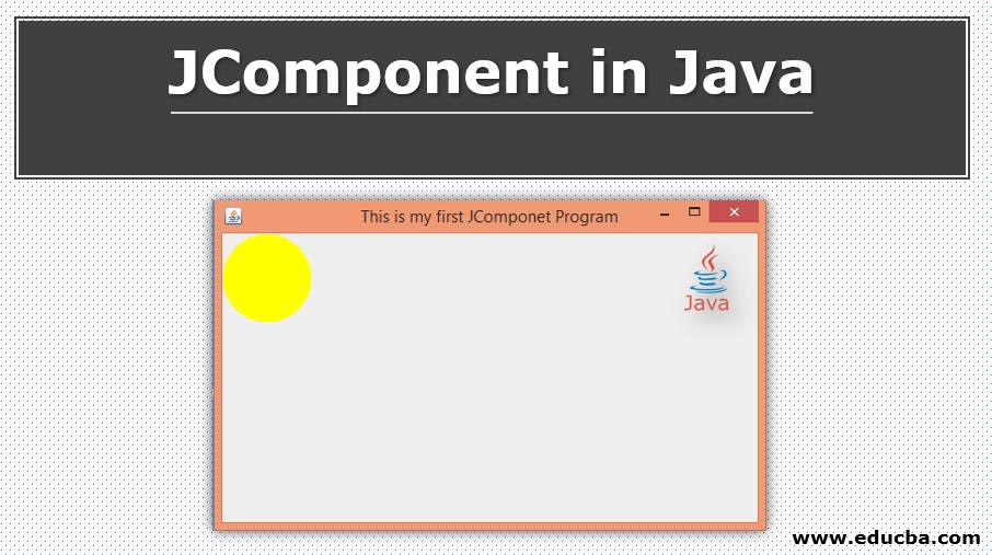 JComponent in Java