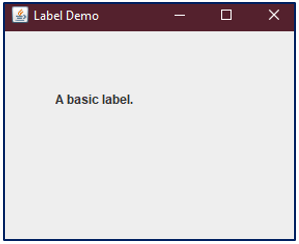 JLabel in Java