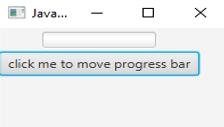 JavaFX ProgressBar eg4.1