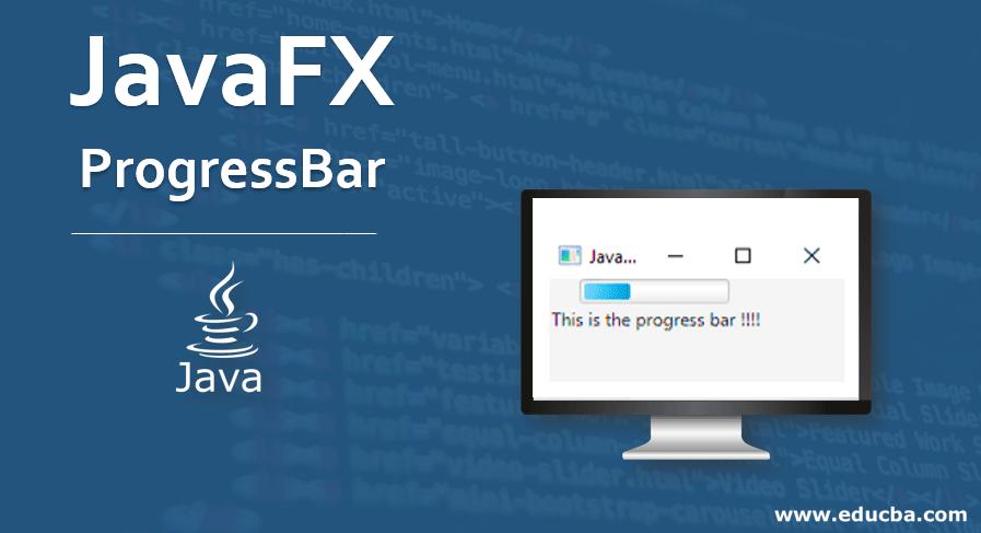 JavaFX ProgressBar