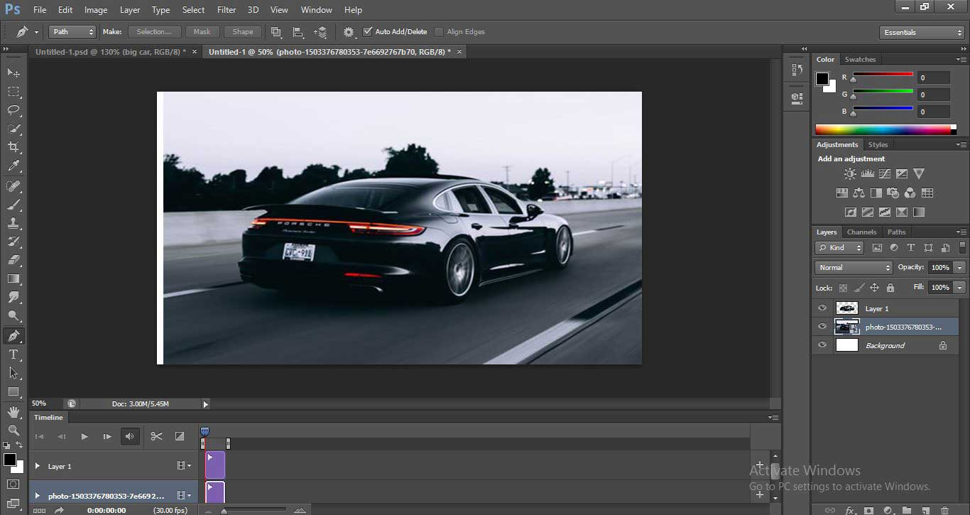 Motion Effect in Photoshop 1-20