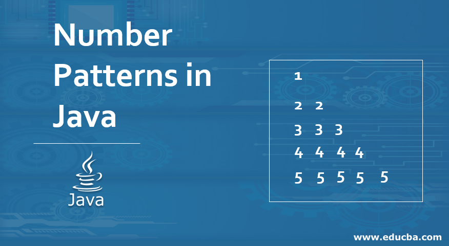 Number Patterns in Java