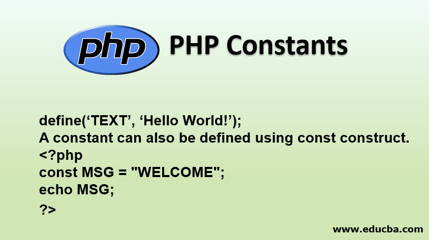 PHP Constants