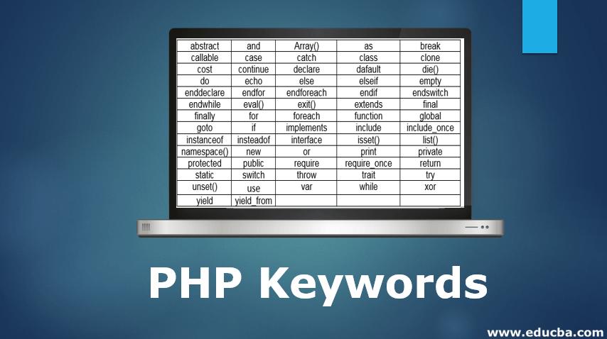 PHP Keywords