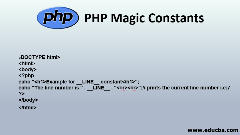 PHP Magic Constants