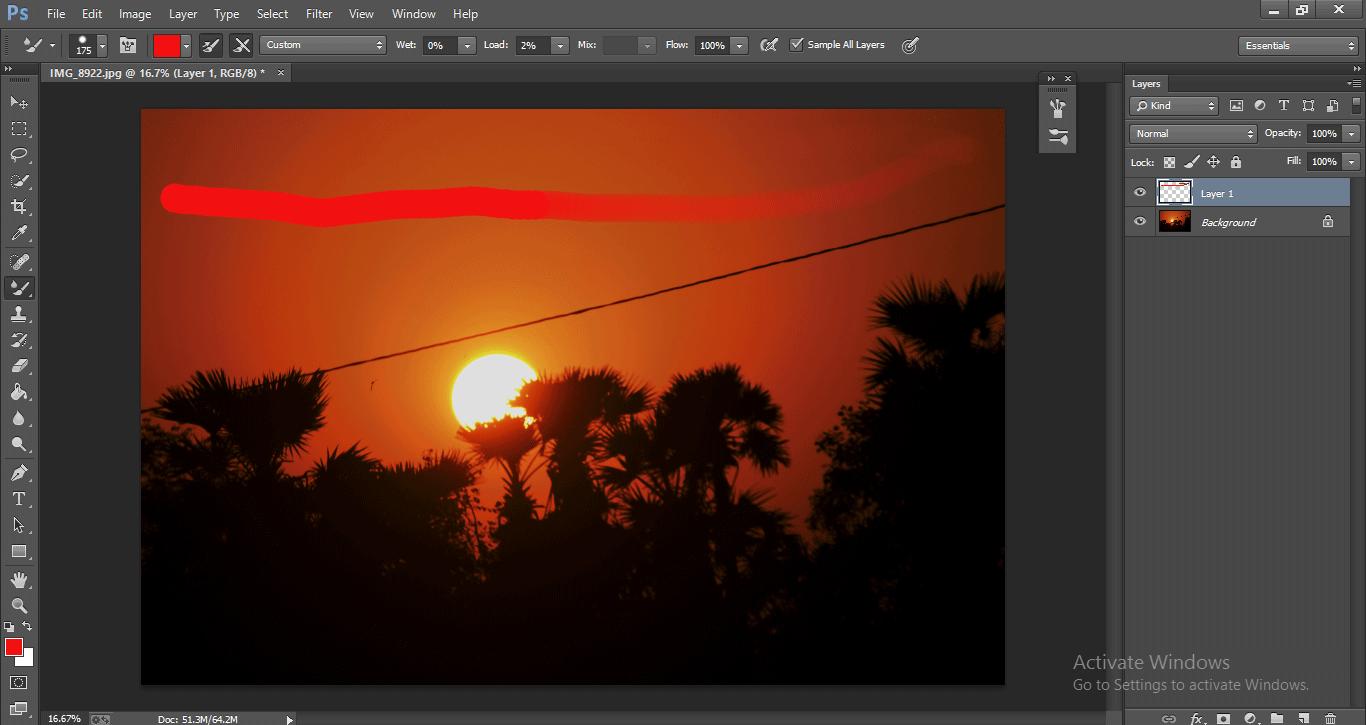 Photoshop Mixer Brush Tool 1-13