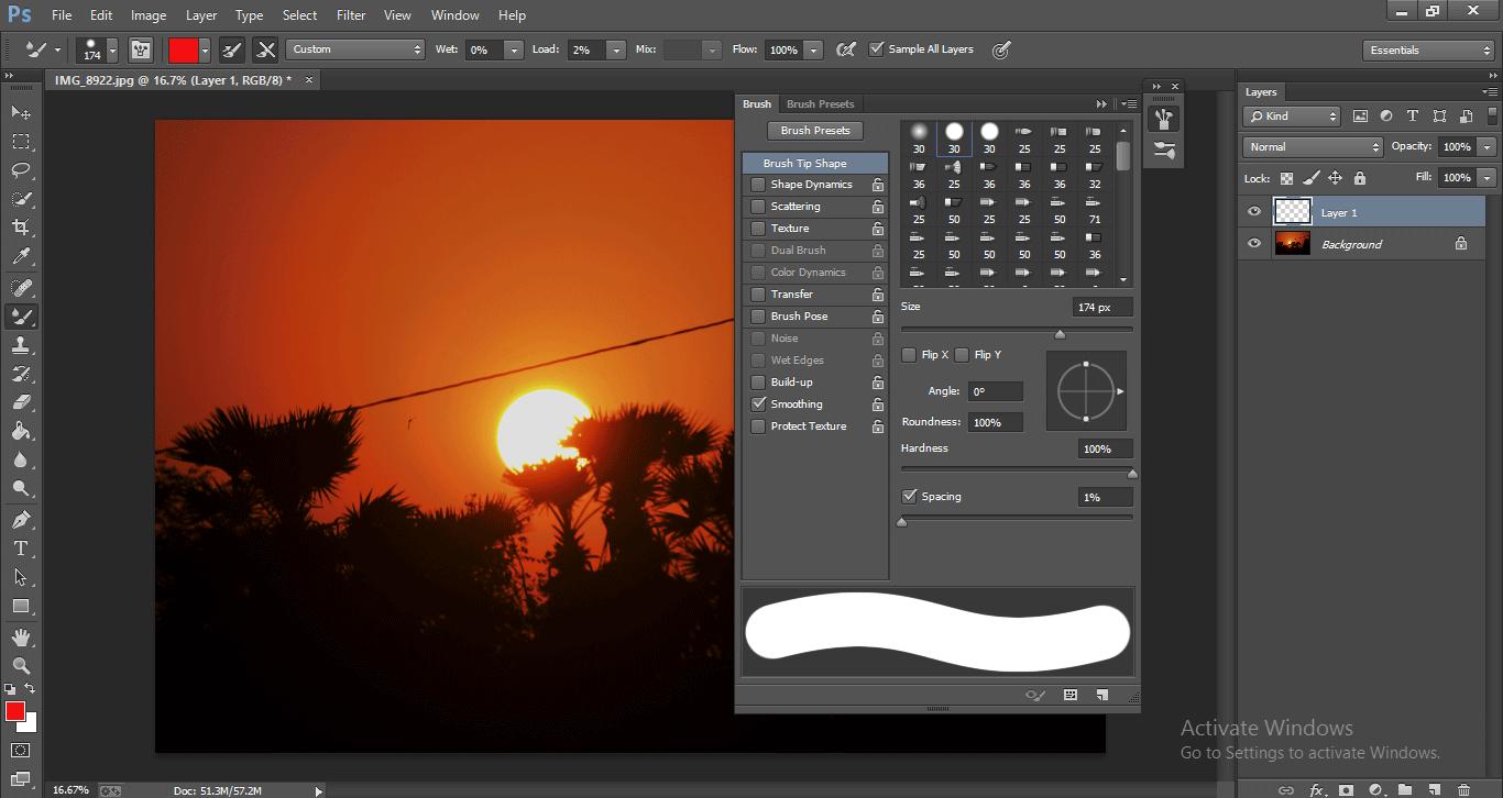 Photoshop Mixer Brush Tool 1-14