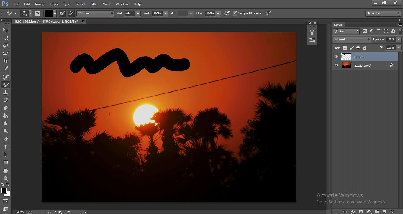 Photoshop Mixer Brush Tool 1-21