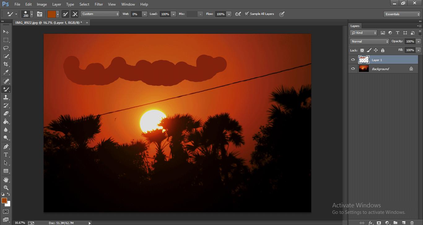 Photoshop Mixer Brush Tool 1-22