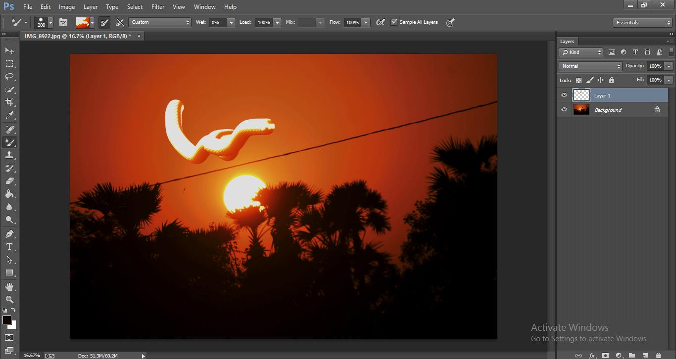 Photoshop Mixer Brush Tool 1-27