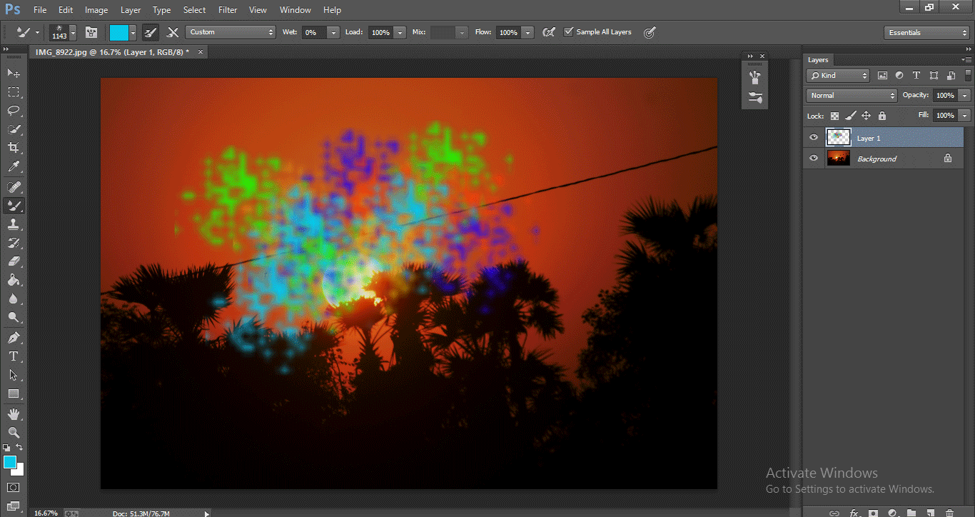 Photoshop Mixer Brush Tool 1-32