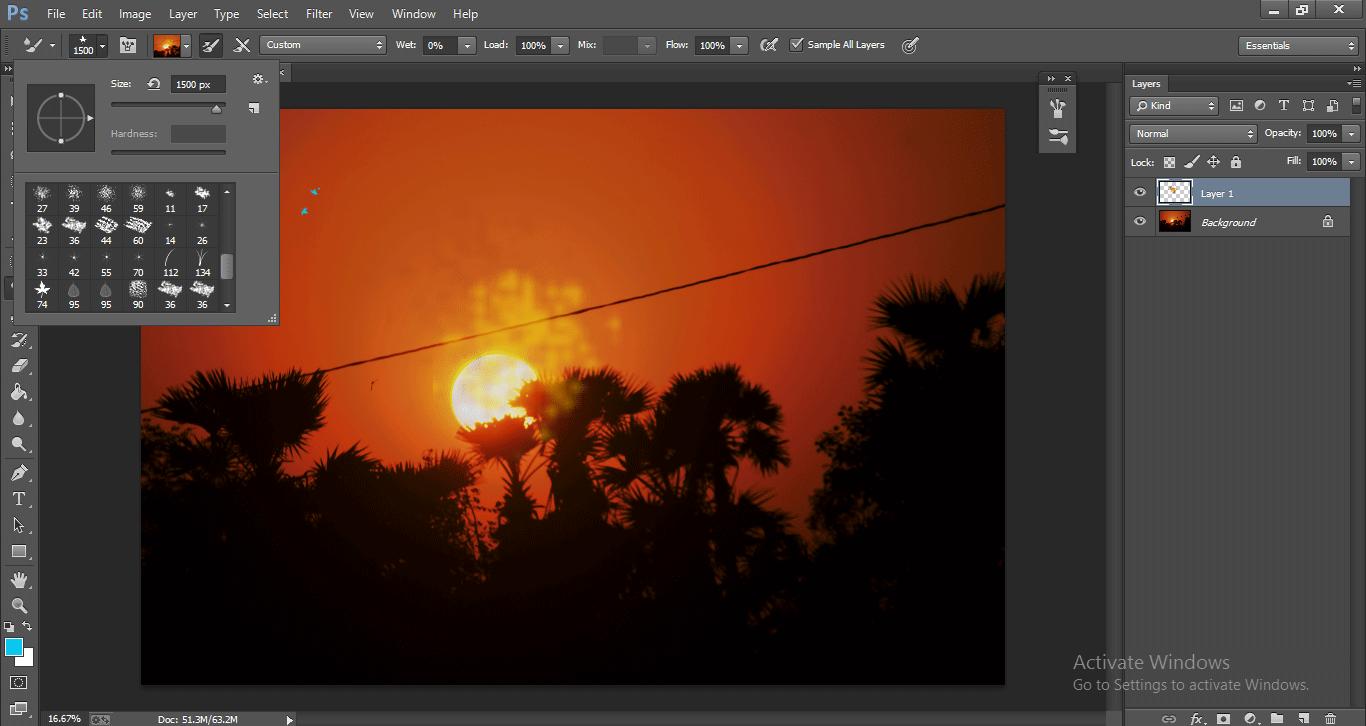 Photoshop Mixer Brush Tool 1-33