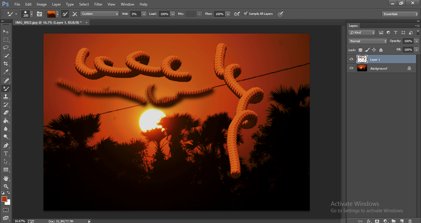 Photoshop Mixer Brush Tool 1-35
