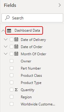 Power BI Dashboard Samples Example 1-5