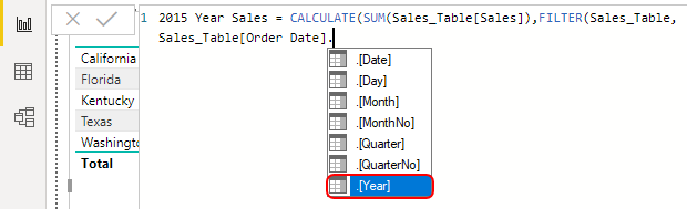 Choose Year Example 1-11