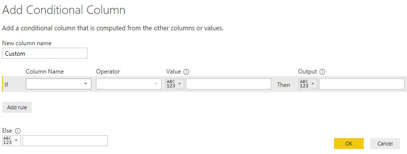Power BI IF Statement Example 1-6