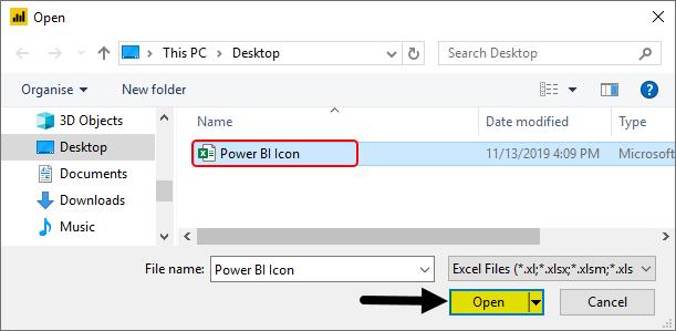 Power BI Icon Example 1-4