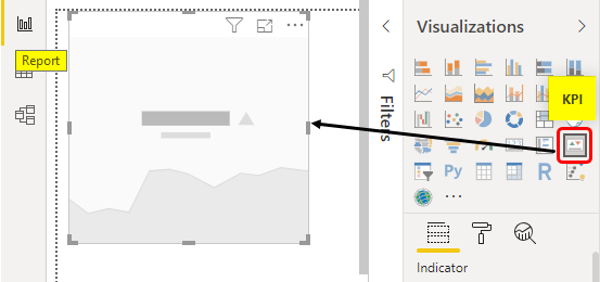Power BI KPI Example 1-7