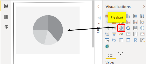 Select Pie Chart Example 1-14