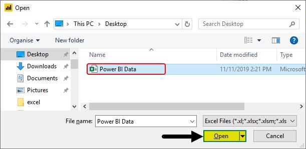 Power BI Reports Example 1-4