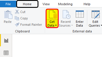 Power BI KPI Example 1-2