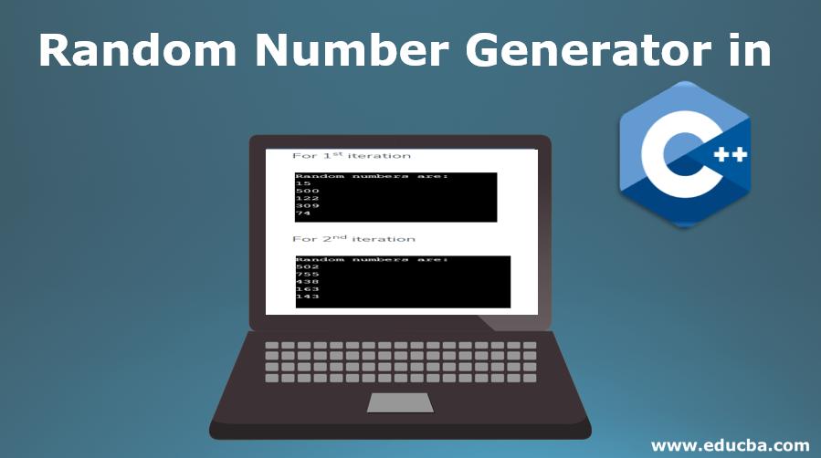 Random Number Generator in C++